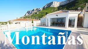 Casas y chalet en venta en las montañas de Denia, Monte Pego, Pedreguer