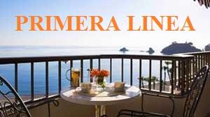 Chalets y apartamentos en venta en venta en la primera linea de la playa de Denia