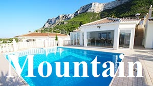 Houses and villas for sale in the mountains of Denia, Monte Pego, Pedreguer